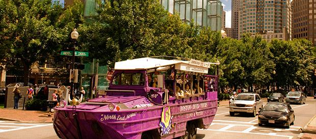 Duck Tours at Boston